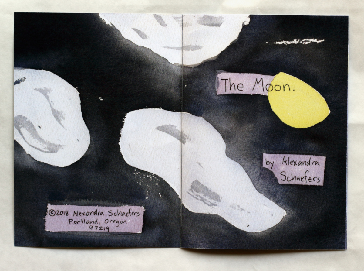 The Moon Title Page