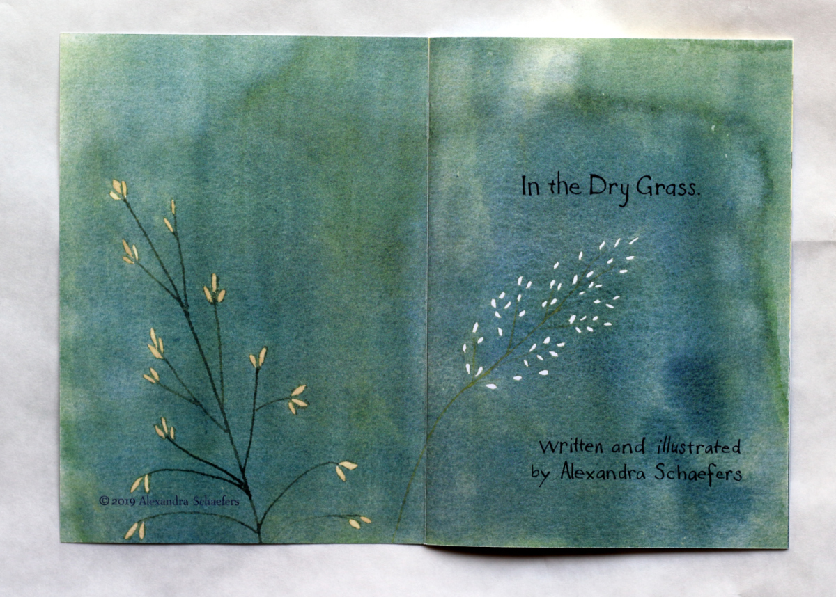In the Dry Grass  title page