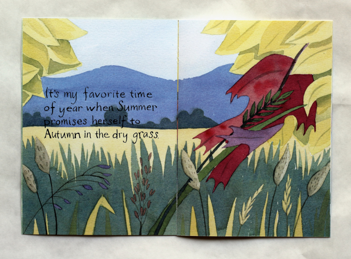 In the Dry Grass  pages 1 and 2