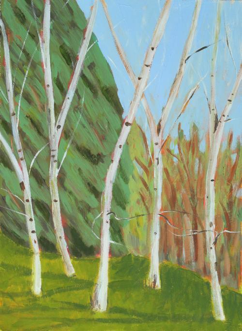 5 Birches